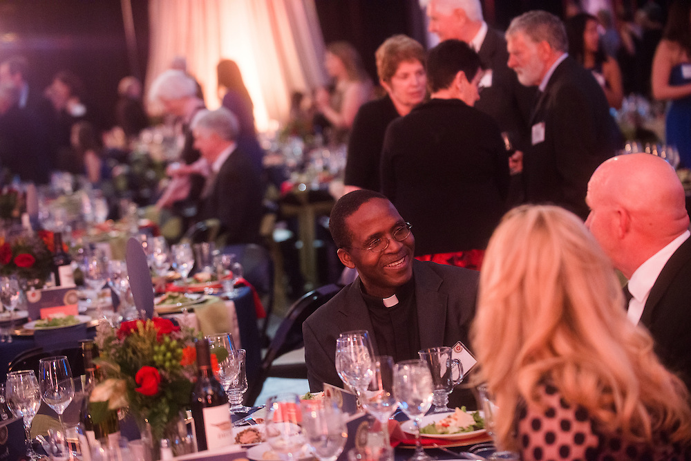 More than 500 Gonzaga benefactors, including parents, friends, alumni, students and members of the Jesuit Community, attended the 2014 Ignatian Gala