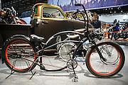 Motosalone Eicma edizione 2012. bicicletta custom..International Motorcycle Exhibition 2012: a custom bicycle.