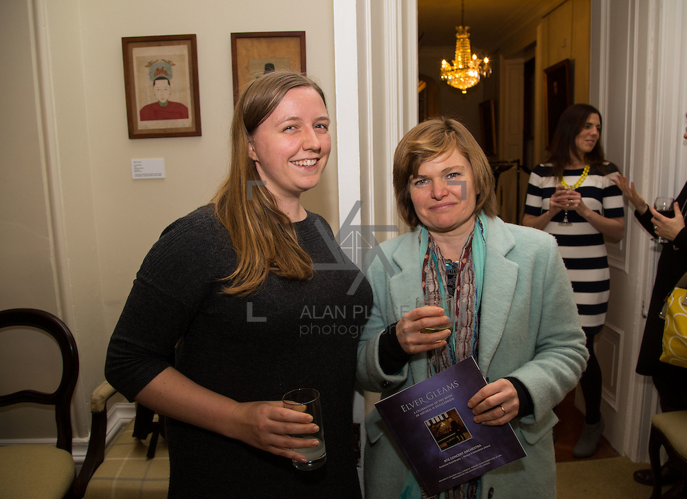 22.11.2016                   <br /> University of Limerick (UL) hosted a gala concert celebrating the music of renowned composer M&iacute;che&aacute;l &Oacute; S&uacute;illeabh&aacute;in.<br /> <br /> Pictured at a special reception before the concert were, Eleanor Giraud and Hilary Moss.<br /> <br /> <br /> The RT&Eacute; Concert Orchestra, conducted by David Brophy, performed with M&iacute;che&aacute;l and a selection of special guests in University Concert Hall Limerick. Picture: Alan Place