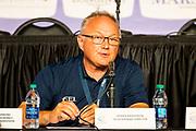 Persconferentie Endurance<br /> FEI World Equestrian Games Tryon 2018<br /> &copy; DigiShots