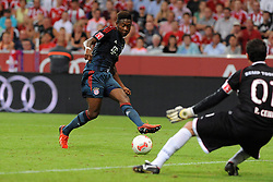 31.07.2013, Allianz Arena, Muenchen, Audi Cup 2013, FC Bayern Muenchen vs Sao Paulo, im Bild, David ALABA (FC Bayern Muenchen) vergibt eine Grosschance // during the Audi Cup 2013 match between FC Bayern Muenchen and Sao Paulon at the Allianz Arena, Munich, Germany on 2013/07/31. EXPA Pictures © 2013, PhotoCredit: EXPA/ Eibner/ Wolfgang Stuetzle<br /> <br /> ***** ATTENTION - OUT OF GER *****