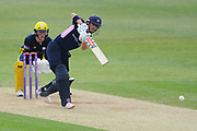 John Simpson of Middlesex batting during the Royal London One Day Cup match between Hampshire County Cricket Club and Middlesex County Cricket Club at the Ageas Bowl, Southampton, United Kingdom on 23 April 2019.