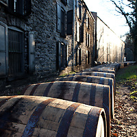 Barrel ricking at Woodford Reserve