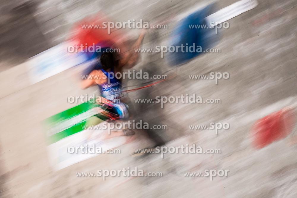 HIRANO Natsumi of Japan during Finals IFSC World Cup Competition in sport climbing Kranj 2019, on September 29, 2019 in Arena Zlato polje, Kranj, Slovenia. Photo by Peter Podobnik / Sportida