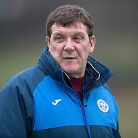 St Johnstone Training…09.12.16<br />Manager Tommy Wright pictured during training at McDiarmid Park this morning..<br />Picture by Graeme Hart.<br />Copyright Perthshire Picture Agency<br />Tel: 01738 623350  Mobile: 07990 594431