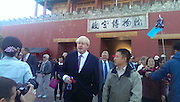 BEIJING, CHINA - OCTOBER 15: Finland out<br /> <br /> Boris Johnson Visits Forbidden City <br /> <br /> Mayor of London Boris Johnson visits the Forbidden City during his visit to China on October 15, 2013 in Beijing, China. <br /> ©Exclusivepix