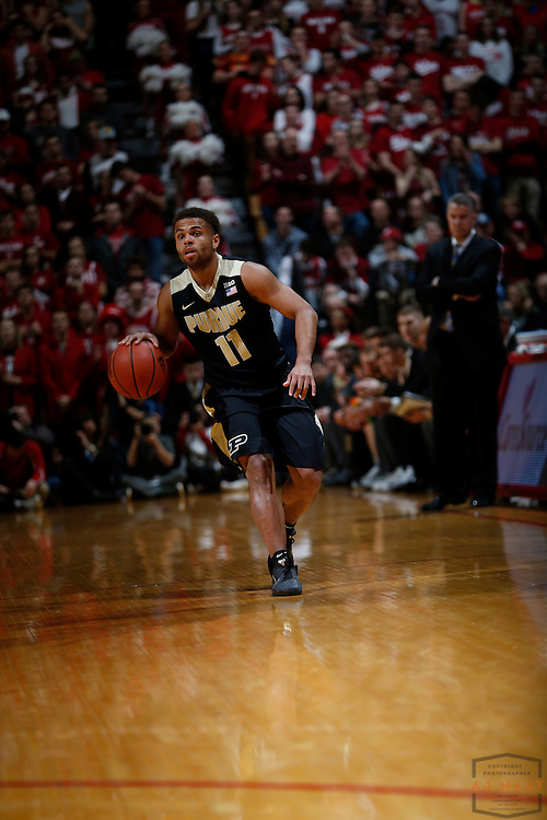 Purdue guard P.J. Thompson (11) in action as Purdue played Indiana in an NCCA college basketball game in Bloomington, Ind., Thursday, Feb. 9, 2017. (AJ Mast)