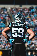 December 23, 2018. Panthers vs Falcons. Luke Kuechly, Middle Linebacker