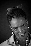5 April 2012, Soshanguve, South Africa. Maria Maropeng, aged 63.