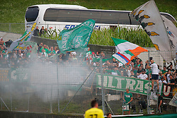 21.07.2019, Sportplatz, Allerheiligen bei Wildon, AUT, OeFB Uniqa Cup, USV Allerheiligen vs SK Rapid Wien, 1. Runde, im Bild Rapid Fans // Fans of Rapid during the ÖFB Uniqa Cup, 1st round match between USV Allerheiligen and SK Rapid Wien at the Sportplatz in Allerheiligen bei Wildon, Austria on 2019/07/21. EXPA Pictures © 2019, PhotoCredit: EXPA/ Erwin Scheriau