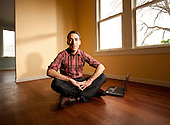 Portraits of Glenn Kelman - President / CEO of Redfin Real Estate.  2008-01