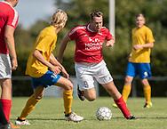 Simon Sørensen (Ejby) under kampen i Serie 2 mellem Ølstykke FC og Ejby IF den 7. september 2019 på Ølstykke Stadion. Foto: Claus Birch.
