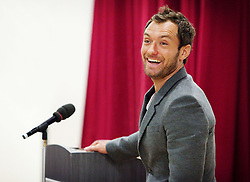 Client: LOCOG. Jude Law - Ambassador for London 2012. Photo: Anthony Charlton