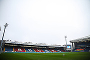 General view of the stadium before the The FA Cup match between Blackburn Rovers and Manchester United at Ewood Park, Blackburn, England on 19 February 2017. Photo by Andrew Lewis.
