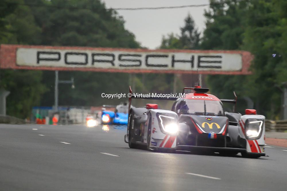 #23, Panis Barthez Competition, Ligier JSP217-Gibson, LMP2, driven by: Timothy Buret, Julien Canal, Will Stevens, 24 Heures Du Mans  2018, , 14/06/2018,
