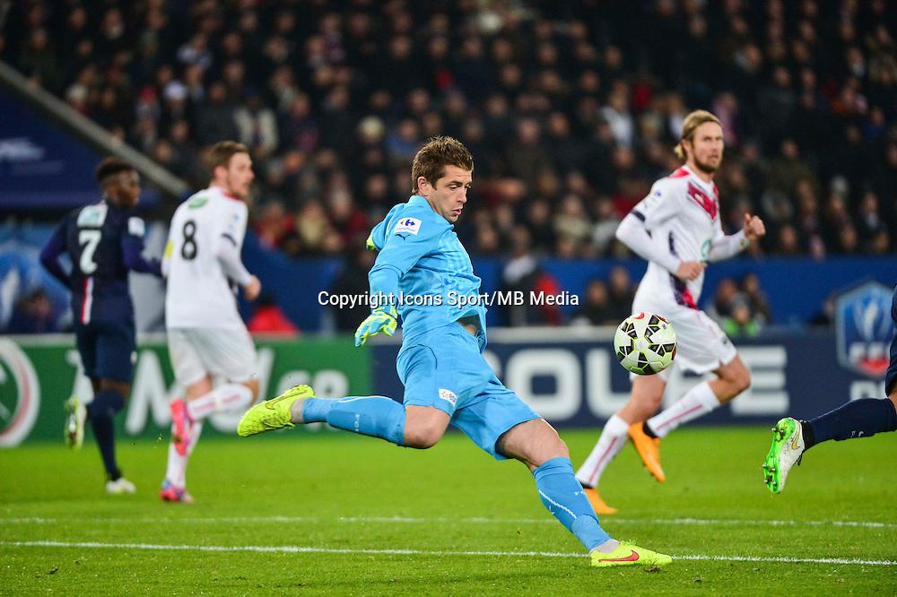 Cedric CARRASSO - 21.01.2015 - Paris Saint Germain / Bordeaux - Coupe de France<br /> Photo : Dave Winter / Icon Sport