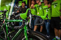 Cannondale bike of Peter Sagan, Tour de France, Stage 21: Évry > Paris Champs-Élysées, UCI WorldTour, 2.UWT, Paris Champs-Élysées, France, 27th July 2014, Photo by Pim Nijland / PelotonPhotos.com