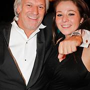NLD/Hilversum/20120205 - Concert tbv Stichting DON, Frank Wisse en dochter Lotte