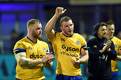 Sam Underhill of Bath Rugby after the match - Mandatory byline: Patrick Khachfe/JMP - 07966 386802 - 15/12/2019 - RUGBY UNION - Stade Marcel-Michelin - Clermont-Ferrand, France - Clermont Auvergne v Bath Rugby - Heineken Champions Cup