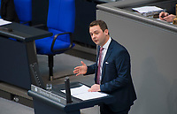 DEU, Deutschland, Germany, Berlin, 31.01.2019: Andreas Lenz (CSU) bei einer Rede während einer Plenarsitzung im Deutschen Bundestag.