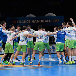 20170121: FRA, Handball - IHF Men's World Championship, Russia vs Slovenia