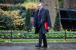 © Licensed to London News Pictures. 14/11/2017. London, UK. Scotland Secretary David Mundell arrives on Downing Street for the weekly Cabinet meeting. Photo credit: Rob Pinney/LNP