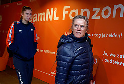 10–01-2020 NED: Olympic qualification tournament women Netherlands - Poland, Apeldoorn<br /> The Dutch volleyball players lost the third group match of the OKT in Apeldoorn 3-1 against Poland / Juliët Lohuis #7 of Netherlands
