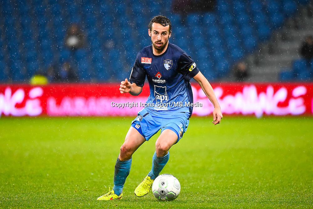 Alexandre BONNET  - 12.12.2014 - Le Havre / Laval - 17eme journee de Ligue 2 <br /> Photo : Fred Porcu / Icon Sport