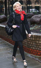 FEB 05 2014 Former Pan's People dancer at Dave Lee Travis trial