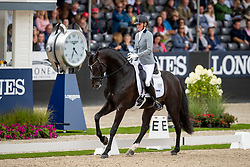 Van Uytert-Van Vliet Renate, NED, Just Wimphof<br /> World Championship Young Dressage Horses - Ermelo 2019<br /> © Hippo Foto - Dirk Caremans<br /> Van Uytert-Van Vliet Renate, NED, Just Wimphof