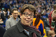 Michael McIntyre during the NBA London Game match between Washington Wizards and New York Knicks at the O2 Arena, London, United Kingdom on 17 January 2019.