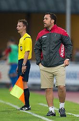 22.07.2015, Grenzland Stadion, Kufstein, AUT, Testspiel, 1. FC Köln vs RCD Espanyol Barcelona, im Bild Trainer Sergio Gonzalez (Espanyol Barcelona) // during the International Friendly Football Match between 1. FC Cologne and RCD Espanyol Barcelona at the Grenzland Stadion in Kufstein, Austria on 2015/07/22. EXPA Pictures © 2015, PhotoCredit: EXPA/ Johann Groder