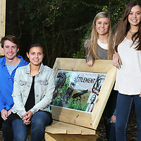 Adam Robison   BUY AT PHOTOS.DJOURNAL.COM<br /> Tupelo High School Seniors, seated, Logan Long and Lauren Kate Carter, standing, Anna Claire Lothorp and Charlotte Gibens.