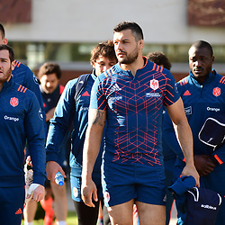 Damien Chouly of France during the training session of  the France rugby team at Centre National de Rugby on March 14, 2017 in Marcoussis, France. (Photo by Dave Winter/Icon Sport)