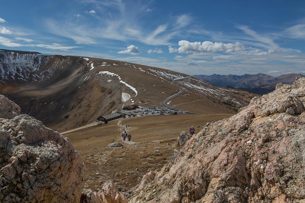 Alpine Visitors Center, Rocky Mountain National Park, Colorado, USA