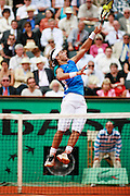 Roland Garros. Paris, France. June 3rd 2006..Rafael Nadal against Paul-Henri Mathieu.