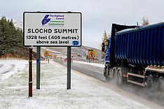 Weather |  Slochd Pass | 13 November 2017