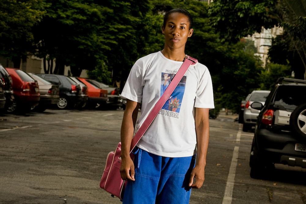 Belo Horizonte_MG, Brasil...Judoca Katleyn Quadros, atleta do Minas Tenis Clube...Judoka Katleyn Quadros, athlete of the Minas Tenis Clube...Foto: BRUNO MAGALHAES / NITRO