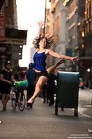 Dance As Art Dance Photography Project Streets of New York with dancer Maja Bakija