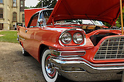 06 August 2016:  1958 Chrysler 300d Bankers HotRod<br /> Owners: Daryl &amp; Rita Miller<br /> <br /> Displayed at the McLean County Antique Automobile Association Car show at David Davis Mansion in Bloomington Illinois