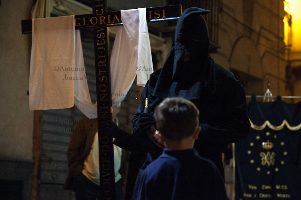 Good Friday was celebrated with a traditional procession of mysteries (processione del misteri) in Palermo, Italy. The procession comes at the end of the Holy Week, just days before Easter Sunday.