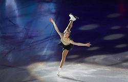 27-01-2013 KUNSTRIJDEN:  ISU EUROPEAN FIGURE SKATING CHAMPIONSHIPS: ZAGREB<br /> Carolina Kostner  during Gala evening with the show of the winners of the ISU Figure Skating European Championships at the Dom Sportov<br /> ***NETHERLANDS ONLY***<br /> ©2013-FotoHoogendoorn.nl