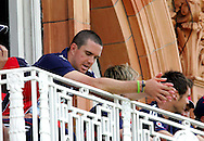 Photo © ANDREW FOSKER / SECONDS LEFT IMAGES 2008  -  Captain Kevin Pietersen looks concerned as the wickets start to fall for England - England v New Zealand Black Caps - 5th ODI - Lord's Cricket Ground - 28/06/08 - London -  UK - All rights reserved