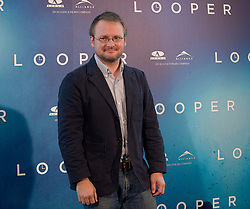 Director Rian Johnson attends the 'Looper' photocall at ME Hotel, Madrid, Spain, October 15, 2012. Oscar Gonzalez / i-Images.