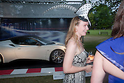 SASHA PHILLIPS, The Grand Prix Ball, before the Formula One,<br /> British Grand Prix at Silverstone,The Hurlingham Club, London. 7 July 2010. -DO NOT ARCHIVE-© Copyright Photograph by Dafydd Jones. 248 Clapham Rd. London SW9 0PZ. Tel 0207 820 0771. www.dafjones.com.