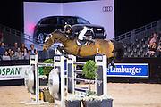Lucas Porter - B Once Z<br /> Jumping Indoor Maastricht 2016<br /> © DigiShots