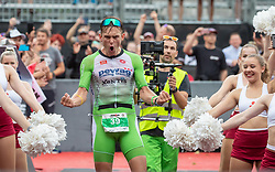 07.07.2019, Klagenfurt, AUT, Ironman Austria, Laufen, im Bild Daniel Bækkegard (DAN, 1. PLATZ) // Winner Daniel Bækkegard (DAN) during the run competition of the Ironman Austria in Klagenfurt, Austria on 2019/07/07. EXPA Pictures © 2019, PhotoCredit: EXPA/ Johann Groder