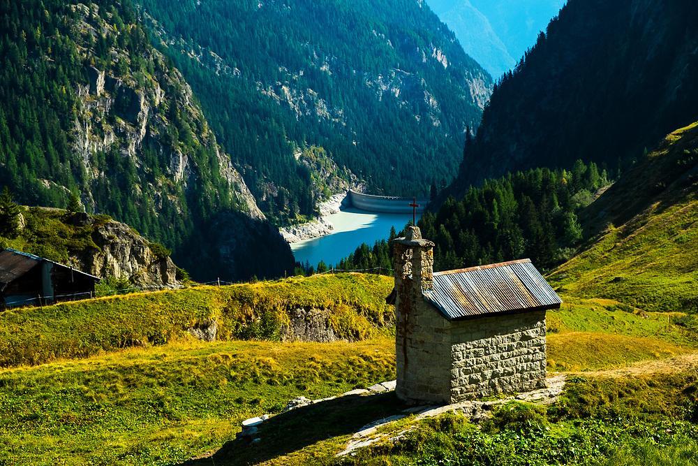 Beautiful summer days in postcard Switzerland