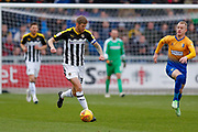 Notts County forward Jonathan Stead (30) in action  during the EFL Sky Bet League 2 match between Mansfield Town and Notts County at the One Call Stadium, Mansfield, England on 8 December 2018.