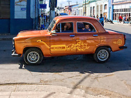 Car graphics in Cardenas, Matanzas, Cuba.
